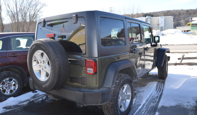 2016 Jeep Wrangler Unlimited Sport SUV 4D full